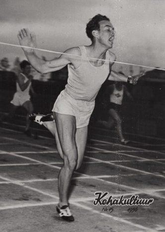 KAANEPOISS: Lopato imeline jooks viis noore ja tundmatu spordimehe ajakirja esikaanele. REPRO
