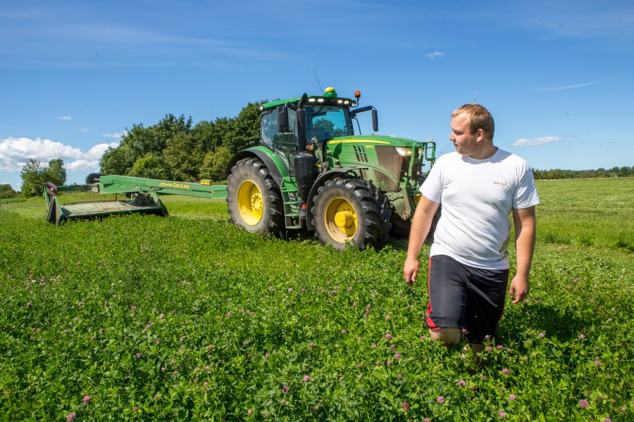 Piimakarja ja teravilja kasvatav Rauni Põllumajanduse OÜ alustas eelmisel nädalal teise niitega, kuid soodne ilmastik lubab ka kolmandat ja kohati isegi neljandat niitmist. Kui tavaliselt on suve esimene niidetud hein […]