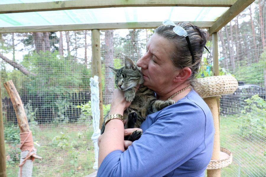Leisis ehitas Ulla Pajusalo-Salminen (pildil) oma kuuele kodukassile õue peale uhke aediku. Endine koerakuut, mida koer polnud kordagi kasutanud, on nüüd kassidele varjualuseks. Aedikus on kiik, erinevad kraapimislauad ja tumbad. […]