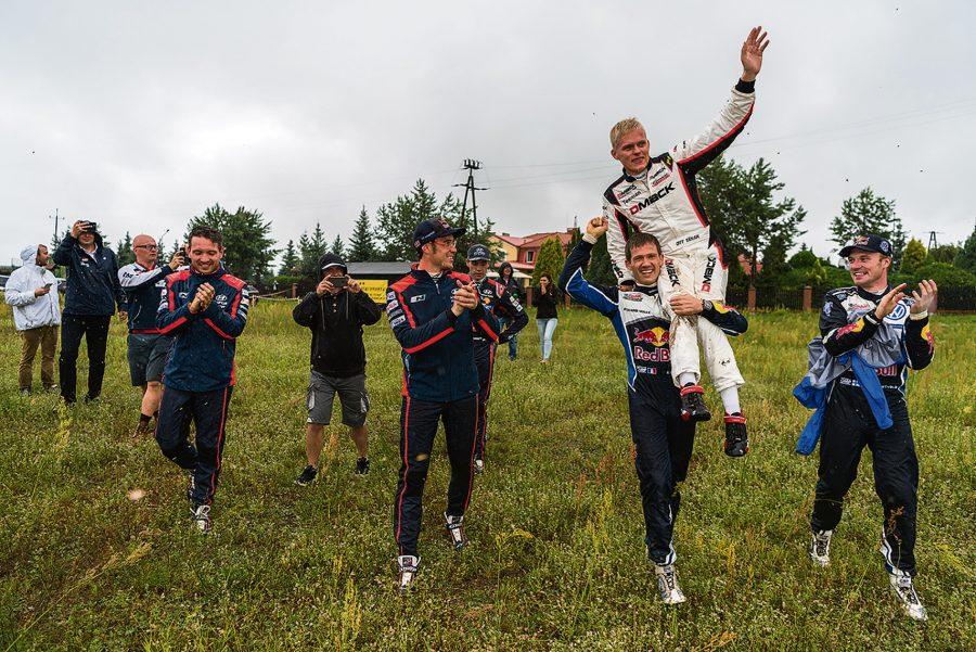 Poola MM ralli eelviimasele katsele minnes oli Ott Tänaku ja Raigo Mõlderi edu Volkswagenil sõitva Andreas Mikkelseni ees 18,6 ja Paddoni ees 31,5 sekundit ning saarlased olid sõitmas võidule. Paraku […]