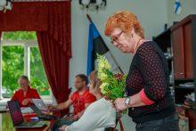 NAPP AASTA: Tiina Olesk sai ametisse mullu juunikuus volikogu esimehe kohalt tagasi astunud Andrus Kandima asemel. Foto: TAMBET ALLIK