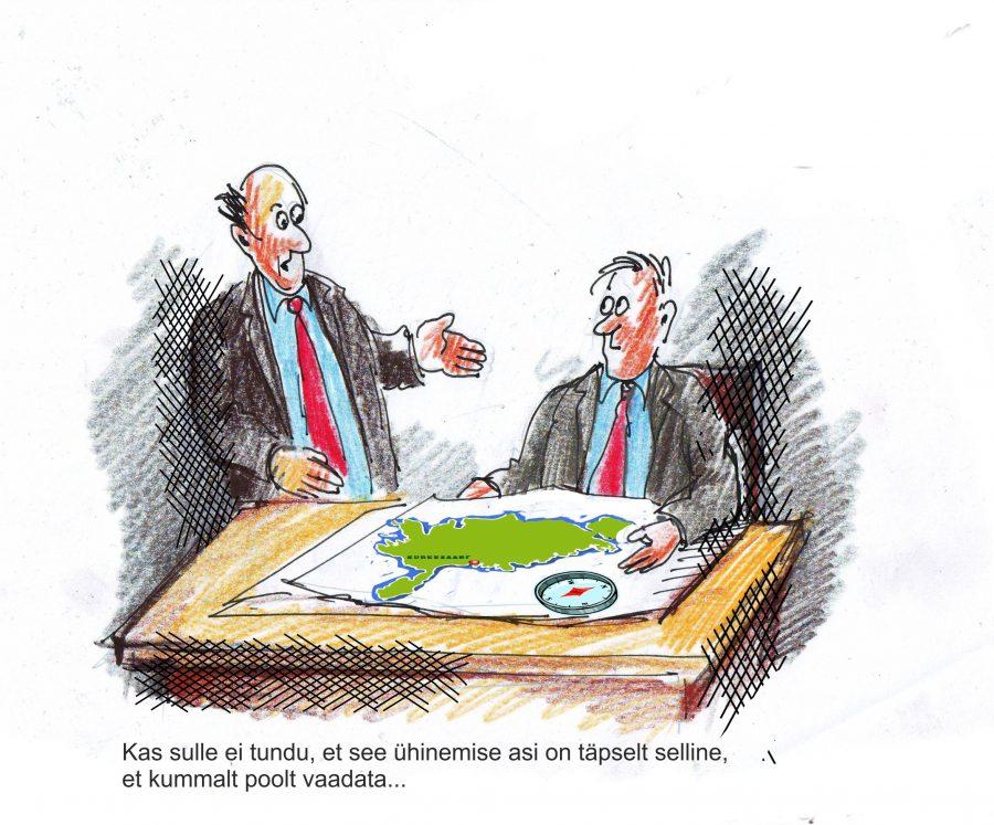 """Valjala vallavolikogu leidis, et """"kosilaste"""" pakutud variantidest on kõige etem ühtne Saaremaa. Mida arvavad ühinemisega seonduvast ja pakutud variantidest aga Valjala valla elanikud – kas vald peaks ühinema Ida-Saaremaaks, nn […]"""