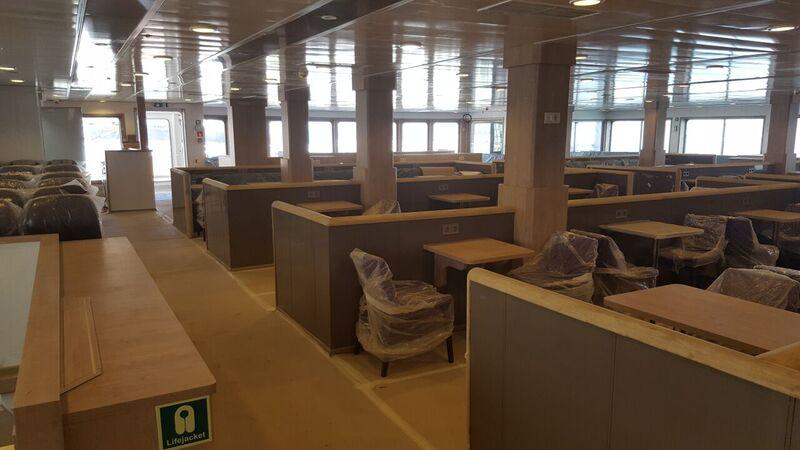 Tallinna Sadama tütarfirma TS Laevad avalikustas, millised näevad välja Türgi laevatehases valmivad parvlaevad.