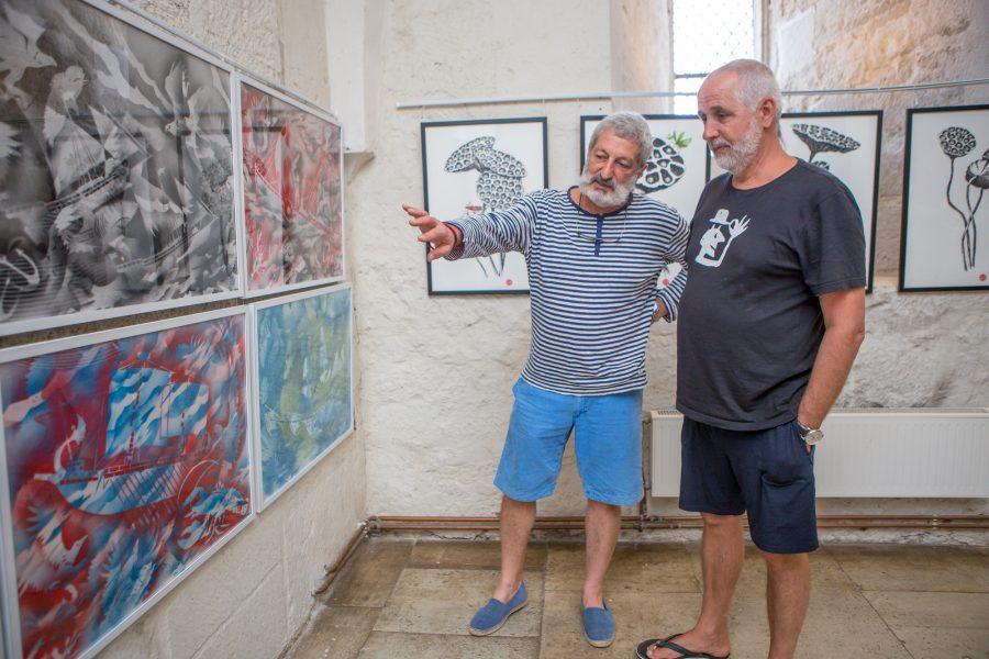 Kuressaare linnuses piiskopi eluruumis avatakse täna kell 16 Moskvas elava kunstniku Sergei Tsigali näitus. 1949. aastal sündinud Sergei Tsigal tõi Saaremaale kaasa oma uuemad tööd, mis on tehtud pärast 2010. […]