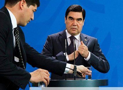 Saksamaa kantsleri Angela Merkeli ja Türkmenistani presidendi Gurbanguly Berdimuhammedowi ühisel pressikonverentsil Berliinis toimus eriskummaline vahejuhtum. Nimelt vahetati pressikonverentsi alguses kõigi üllatuseks välja Türkmenistani riigipea ees seisev veeklaas, kusjuures sellise veidra […]