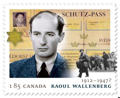 HUMAANSUSE EEST: RootsidiplomaadiRaoul Wallenbergi mälestus on jäädvustatudpaljudes riikides. Näiteks andisKanada postiteenistus 2013. aastal välja talle pühendatud postmargi. HUFFINGTONPOST.CA