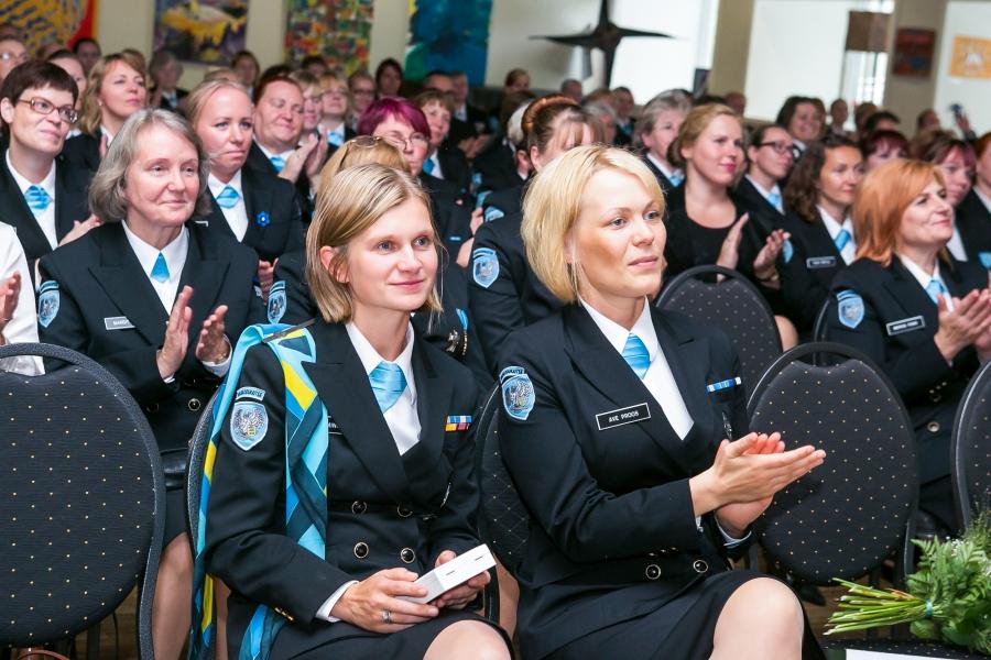 Laupäeval toimus Kuressaares Naiskodukaitse 89. aastapäeva pidulikvastuvõtt, kus osales 170 naiskodukaitsjat ja külalist üle Eesti.