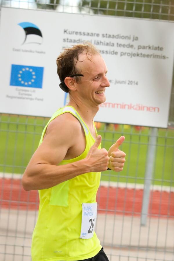 Kuressaares ja selle lähiümbruses esimest korda joostud Ultima Thule maratoni võidu jättis koju kuus päeva tagasi Tallinnas poolmaratonil kaheksanda koha saanud Mairo Mändla, kes läbis võistlusmaa ajaga 2:49.59, kirjutab […]