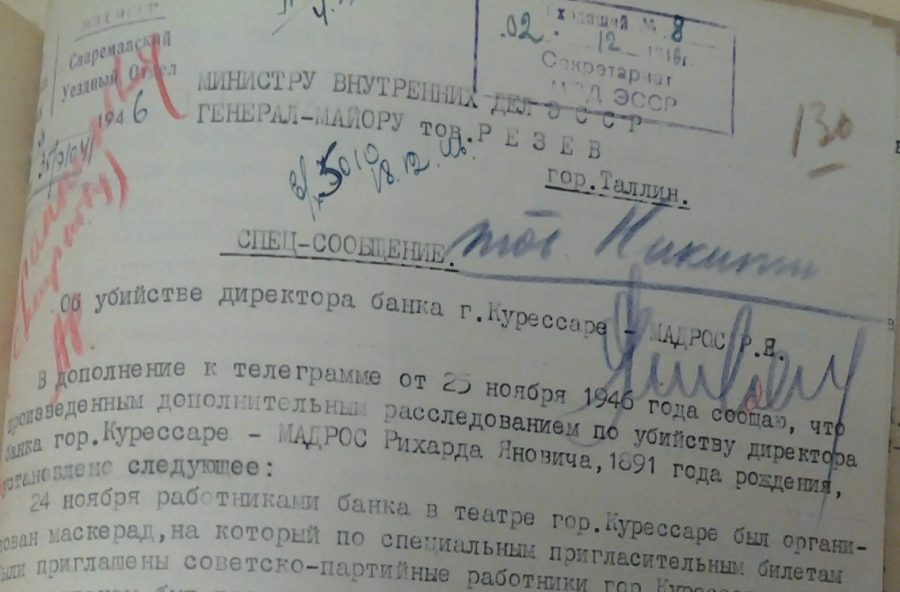 Nõukogude julgeolekuorganite arhiividokumendid näitavad, milline groteskne ja brutaalne olustik valitses Teise ilmasõja järgsetel esimestel aastatel Saaremaal. Tsiviilisikute kõrval oli siin tuhandeid Nõukogude sõjaväelasi, kes ei pidanud end sugugi üleval väärikate […]