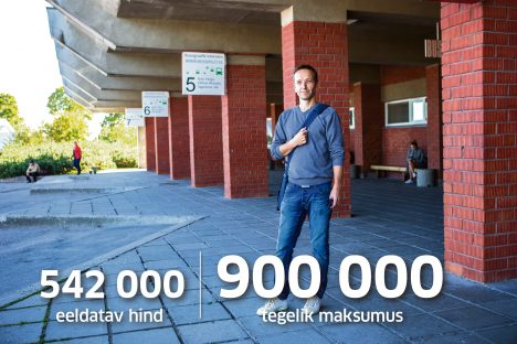 VÄLJAKUTSE EES: Kuressaare noorte huvikeskuse direktori Arnek Grubniku jaoks on uue avatud noortekeskuse väljaarendamine bussijaamas suureks väljakutseks. MAANUS MASING
