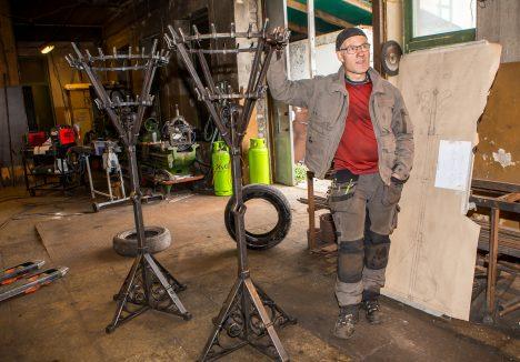TÖÖKOJAS: Gunnar Varese sõnul oli töö huvitav ja tulemusega on ta ise rahul. MAANUS MASING
