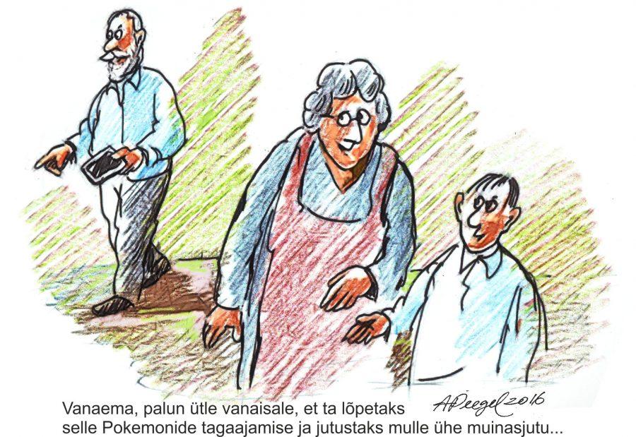 Õnnelikud on need inimesed, kelle kasvatamisel on vanemate kõrval abiks olnud armastavad ja hoolivad vanavanemad. Toredat homset vanavanemate päeva kõigile vanaemadele ja vanaisadele! Sõber ja mõttekaaslane Minni Saapar,Tartu ülikooli epidemioloogia […]