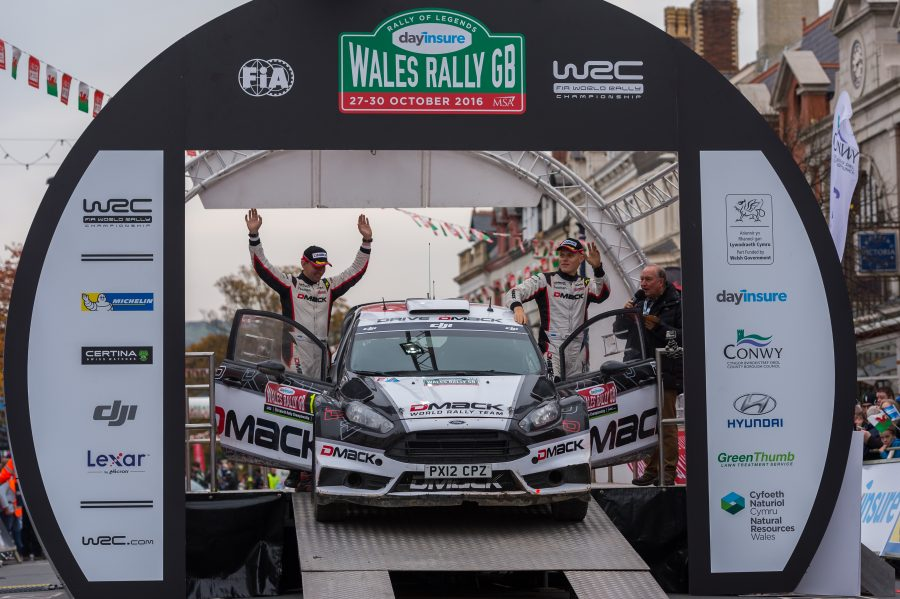 Rehvitootja DMACK-i meeskonna Ford Fiestaga sõitvad Ott Tänak ja Raigo Mõlder saavutasid Walesi MM-rallil suurepärase teise koha, kusjuures viimasel võistluspäeval võitsid nad kõik kuus ja üldse kokku kaksteist kiiruskatset. Walesi […]
