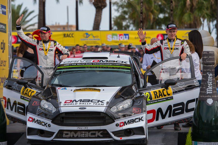"""Autoralli MM-etapil Kataloonias said Fordiga sõitvad Ott Tänak ja Raigo Mõlder kuuenda koha. Võidu võttis prantslane Sebastien Ogier (Volkswagen), kes kindlustas endale neljanda järjestikuse MM-tiitli. """"See oli keeruline ralli, eriti […]"""