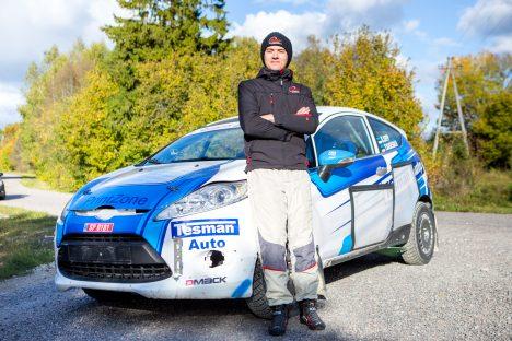 RALLIKS VALMIS: Kenneth Sepp loodab sõita tõusvas joones. MAANUS MASING