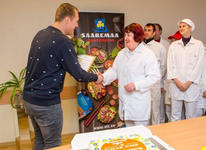 Eesti toiduliit kuulutas eile välja toidutööstuste Südamega Tegija tiitli võitja, kelleks osutus Saaremaa lihatööstuse peatehnoloog Malle Mägi. Oma panuse andsid Malle võitu ka saarlased ise, sest tema ja kõigi teiste […]