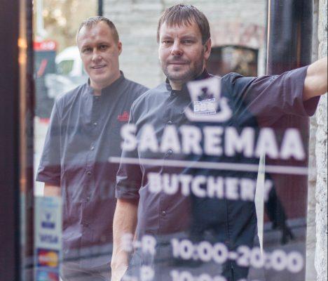 PULL JA BUTCHERY: Kristjan Leedo ja Enn Tobreluts ootavad rahvast Rotermanni kvartalisse lihapoodi ja peagi ka restorani. EGON LIGI