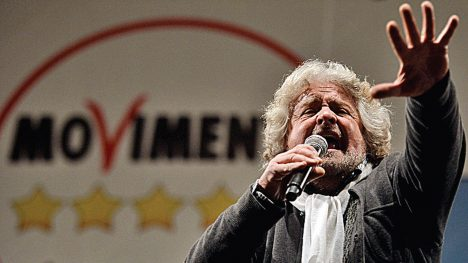 TÄHELEND? Euroopa Liidu ühe suurema liikmesmaa poliitilisel maastikul on endast viimasel ajal võimsalt teada andnud uus jõud – end rahvaalgatuseks nimetav Viie Tähe Liikumine. Selle üks asutaja on tuntud koomik Beppe Grillo. JDENNEHY.COM