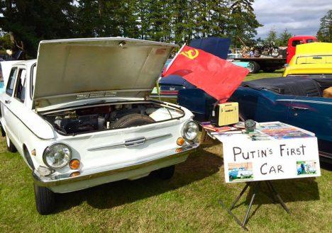 """LEIDLIK: Ajendatuna ilmselt soovist oma kaubast kiiresti vabaneda, reklaamib tundmatuks jääda sooviv ameeriklane oma Zaporožetsit müügikuulutuses kui """"Putini esimest autot"""". SEATTLE.CRAIGLIST.COM"""