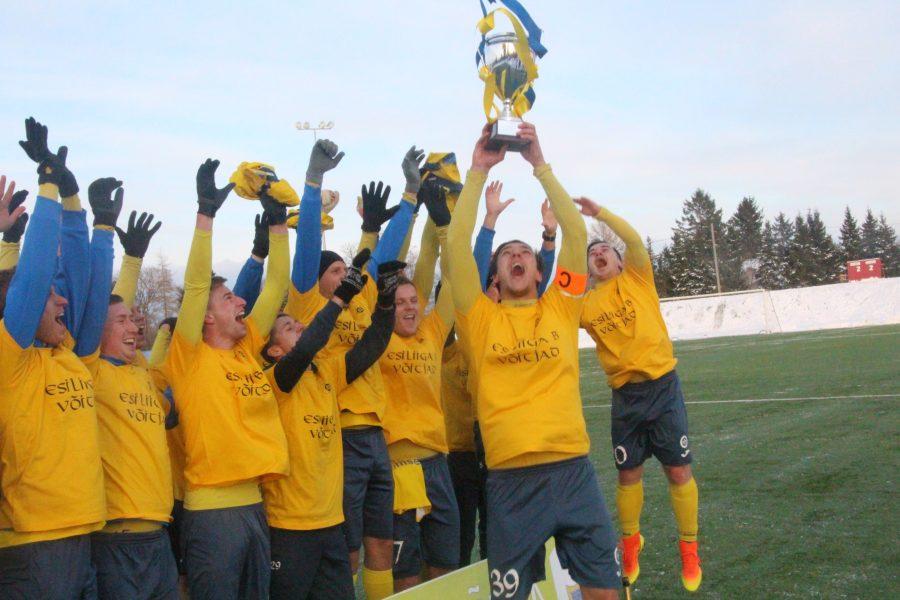 FC Kuressaare lõpetas tänavuse Eesti meeste jalgpallimeistrivõistluste esiliiga B hooaja 2 : 2 viigiga Raasikul sealse FC Jokeri vastu. Sellega vormistas meeskond liigavõidu ja mängib tuleval hooajal taas esiliigas, kust […]
