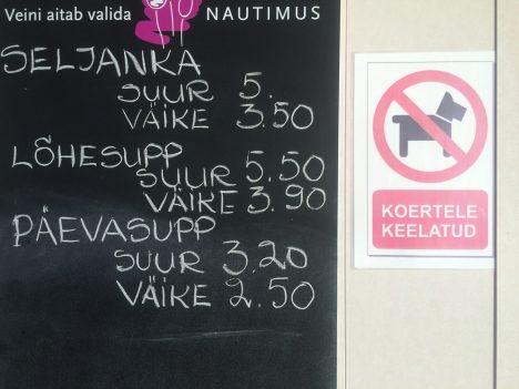 Praamil on supinimedega veinid koertele keelatud   KOERAOMANIK