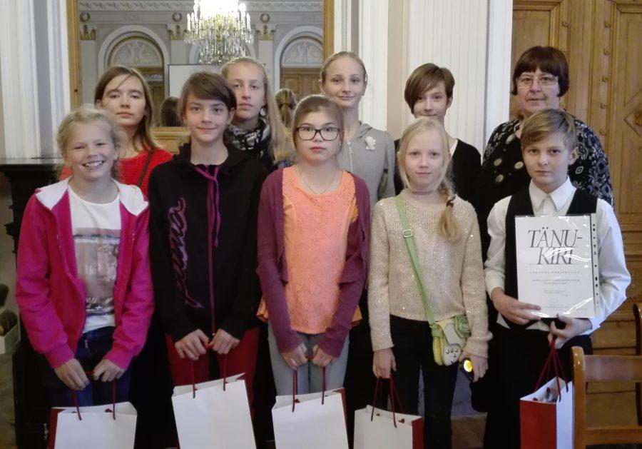 """25. oktoobril osalesid Lümanda põhikooli üheksa 5.–7. klassi õpilast ja kaks õpetajat Tallinna pedagoogika arhiivmuuseumi konverents-tänuüritusel """"Kooliajalugu uurima!"""". Lümanda kool sai tänavu 120-aastaseks. Jaanuaris toimus koolis uurimistööde konverents, kus õpilased […]"""