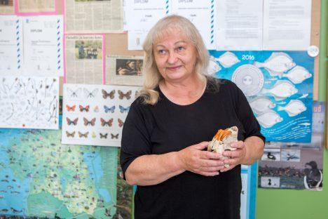 KASU KAHEPOOLNE: Andekate lastega tegelemine arendab õpetaja Inge Vahteri kinnitusel ka teda ennast. MAANUS MASING